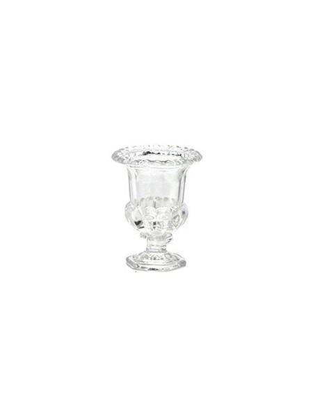 (R$10,00) Vaso de vidro Clássico (14x12cm)