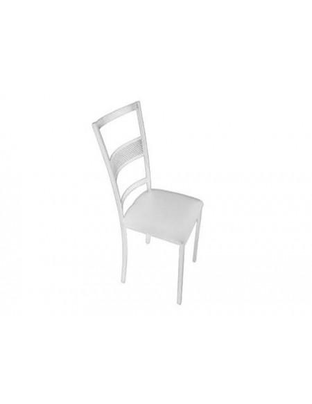 (R$4,50) Cadeira Ferro Branca