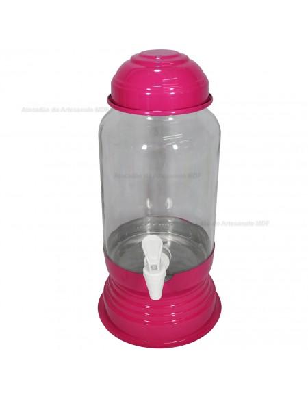 (R$15,00) Suqueira 3L Rosa Pink
