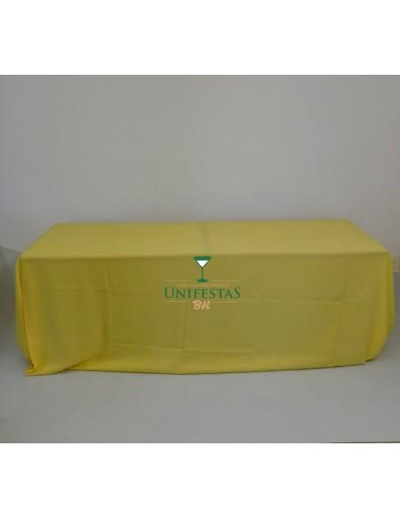 (R$15,00) Toalha Banquete Oxford Amarela (4x2.80m)
