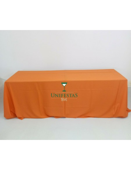 (15,00) Toalha Banquete Oxford Laranja (4x2.80m)