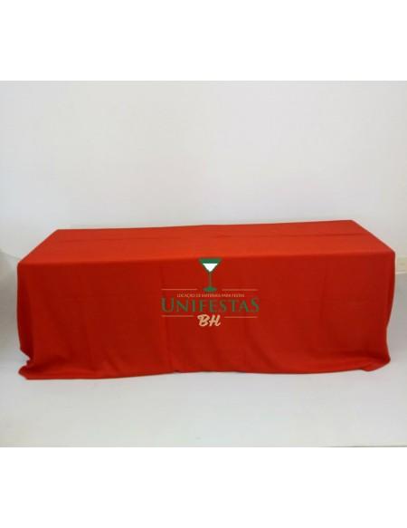 (R$15,00) Toalha Banquete Oxford Vermelha (4x2.80m)