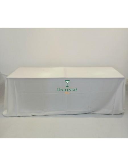 (R$15,00) Toalha Banquete Oxford Branca (4x2.80m)
