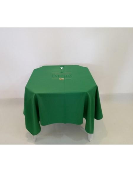 (R$4,00) Toalha Quadrada Oxford Verde (1.50m)