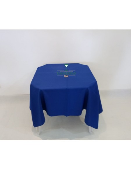 (R$4,00) Toalha Quadrada Oxford Azul Royal (1.50m)
