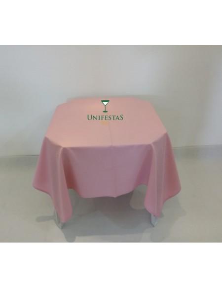 (R$4,00) Toalha Quadrada Oxford Rosa Baby (1.50m)