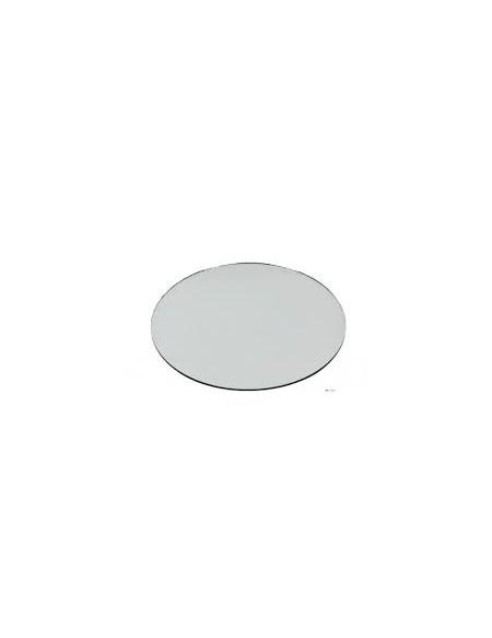 (R$3,80) Sousplat redondo espelho