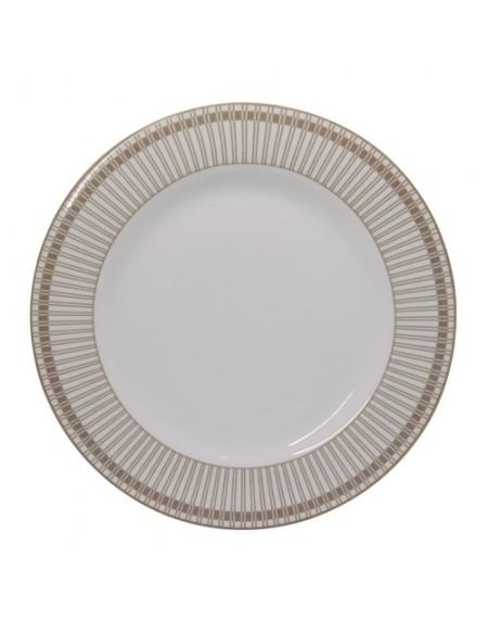 (R$9,50 DEZENA) Prato Refeição Detalhe Luxo (27cm)