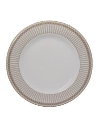 (R$12,80 dezena) Prato Refeição Detalhe Luxo (27cm)