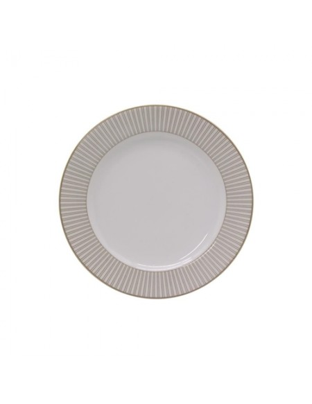 (R$9,50 dezena) Prato Sobremesa Detalhe Luxo (19cm)