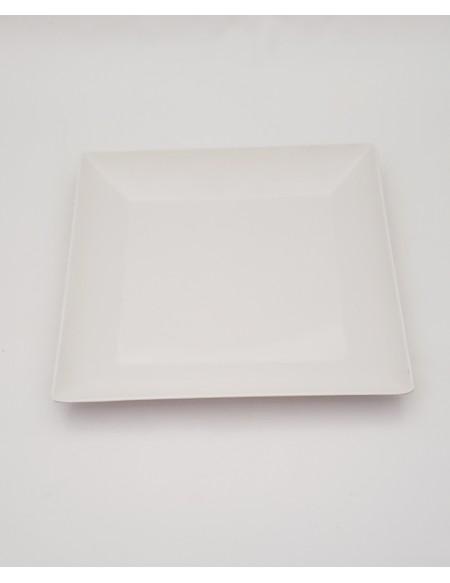 (R$3,00) Prato Lanche Quadrado (24.5cm)