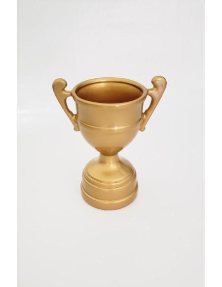 (R$12,00) Troféu Cerâmica Dourado