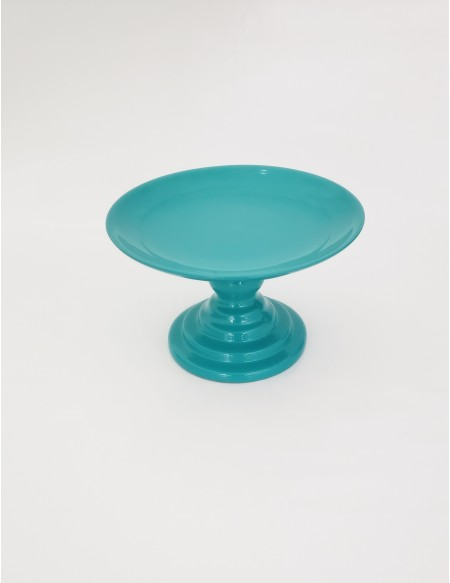 (R$10,00) Boleira Pé Baixo Tiffany (A14.5 / D24.5cm)
