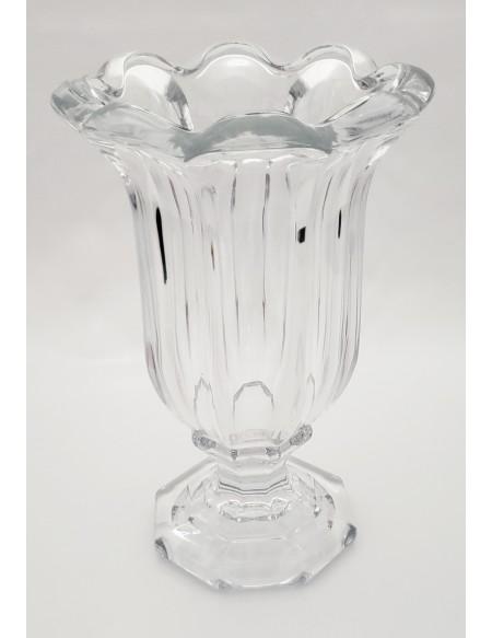 (R$20,00) Vaso de Vidro Clássico (21 x 32cm)