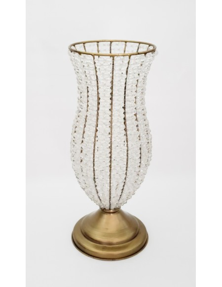 (R$35,00) Vaso Cristal G (A50 / D19cm)