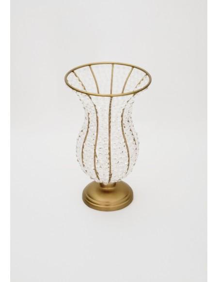 (R$25,00) Vaso Cristal P (A30 / D17.5cm)