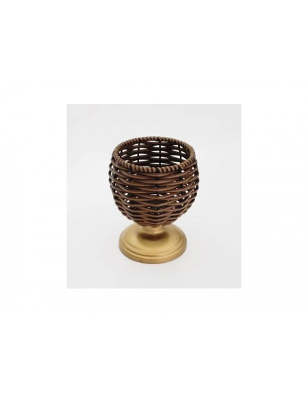 (R$10,00) Vaso Junco PP (A18 / D13cm)