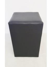 (R$14,00) Puff Mesa Quadrado Preto (45x45xA70cm)
