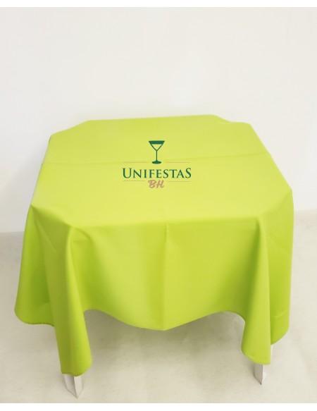 (R$4,00) Toalha Quadrada Oxford Verde Citrus (1.50m)