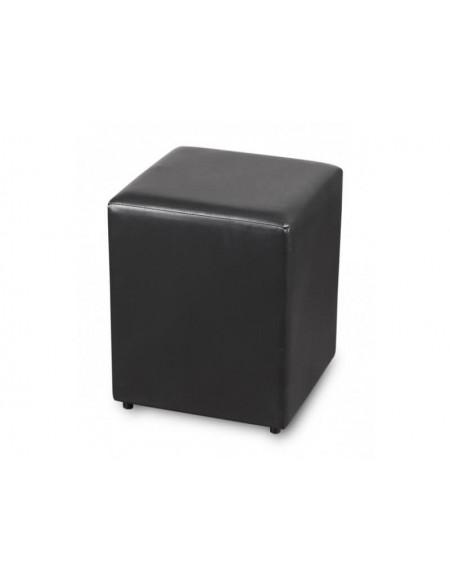 (R$10,80) Puff Quadrado Preto (35x35xA45cm)