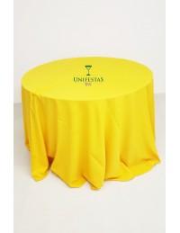 (R$10,00) Toalha Aparador Oxford Amarelo Ouro (3m)