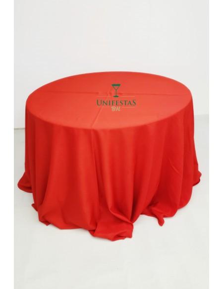 (R$10,00) Toalha Aparador Oxford Vermelha (3m)