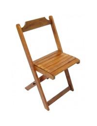 (R$5,00) Cadeira Madeira Dobrável