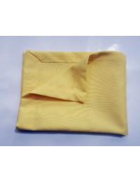 (R$2,20) Guardanapo Amarelo Claro Oxford (40x40cm)