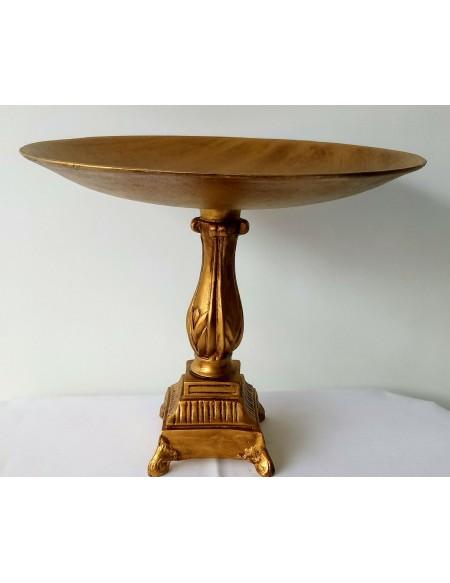 (R$ 28,00) Bandeja Ouro Envelhecido G (33 x 40cm)